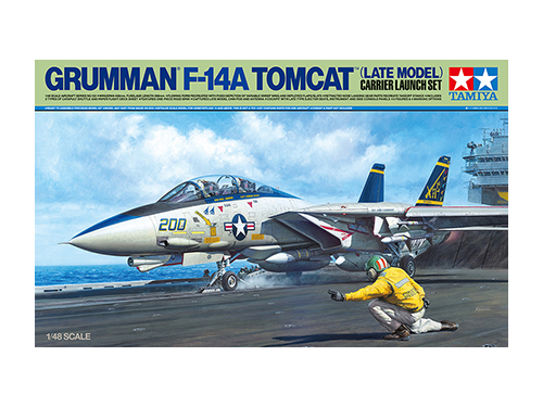 [61122] 1/48 F-14A (Late) Launch Set
